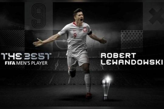 ФИФА выбрала Левандовски лучшим футболистом 2020 года