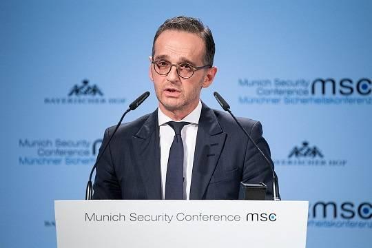 Глава МИД ФРГ допустил провал «Северного потока – 2»