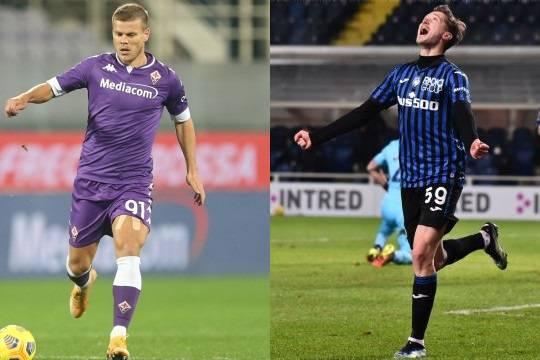 Кокорина посчитали «деревянным» после дебюта в «Фиорентине», а Миранчук стал лучшим игроком «Аталанты» по итогам января