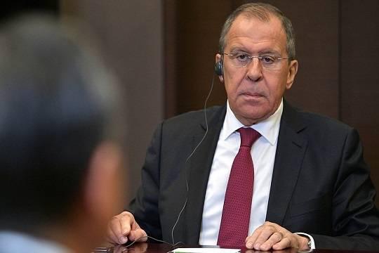 Лавров обвинил Брюссель в разрушении каркаса отношений между Россией и ЕС