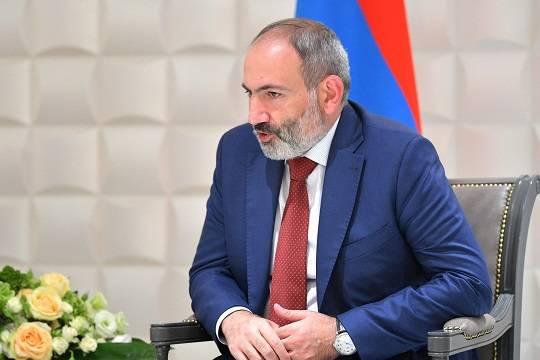 Пашинян: действия Баку в Карабахе направлены также против миссии миротворцев РФ