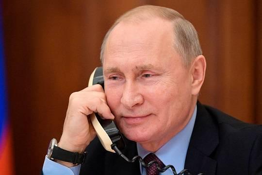 Песков раскрыл детали телефонного разговора Путина и Байдена