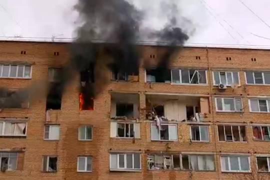 Причиной взрыва в жилом доме в Химках стал бытовой газ