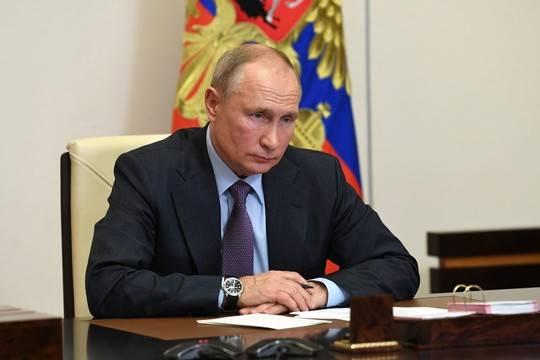 Путин удивился росту цен на продукты питания