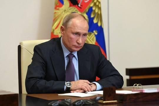 Путин впервые дал комментарий по поводу расследования о дворце в Геленджике