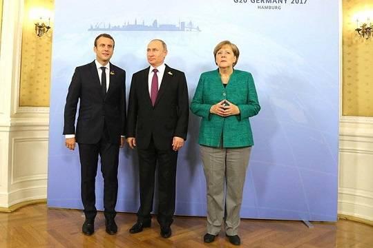 Путин, Меркель и Макрон обсудят Донбасс без Зеленского