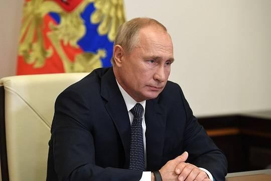 Путин назвал условие окончательной победы над пандемией коронавируса