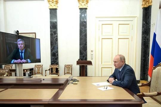 Путин назначил Алексея Русских врио губернатора Ульяновской области