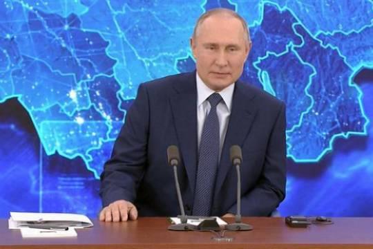Путин поблагодарил Шнурова за вопрос без использования мата