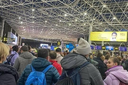 Россиян шокировали столпотворения в аэропорту Сочи