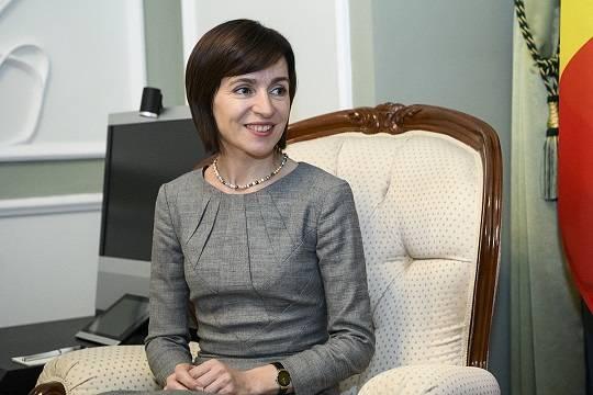 Санду озвучила условие для визита в Россию