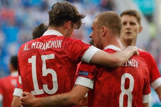 Сборные России и Финляндии сыграли со счетом 1:0: команда Черчесова продолжает борьбу за плей-офф на Евро-2020