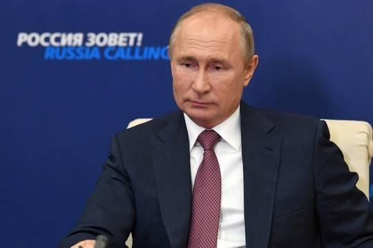 Стали известны самые популярные вопросы к пресс-конференции Путина