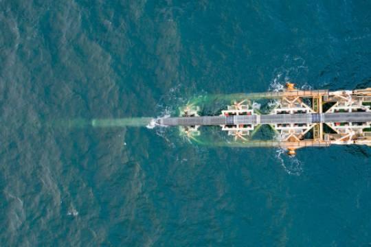 Трубоукладчик «Академик Черский» прибыл к месту строительства «Северного потока – 2»