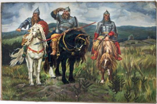 У трёх русских богатырей нашли украинские корни