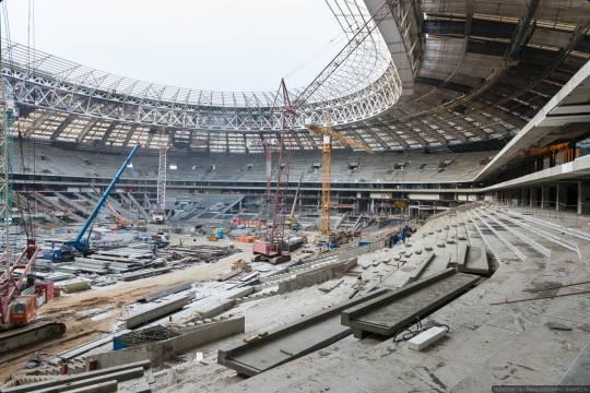 В Москве арестовали экс-главу компании «Арена-2018», строившей стадионы к чемпионату мира по футболу