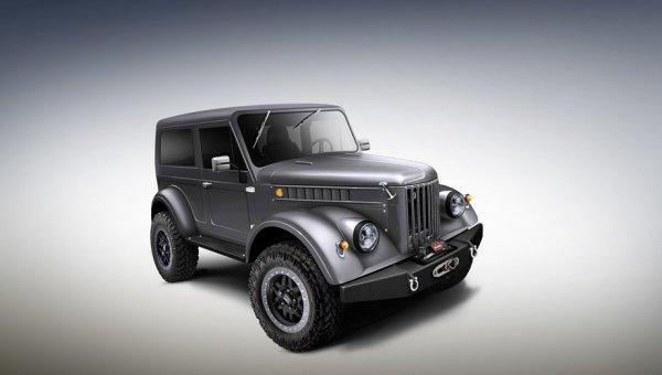 Мечта не станет реальностью: ГАЗ-69 мог получить V8 под капот