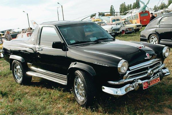 «Почему такое из Весты не сделать»: 2-дверная «Волга» ГАЗ-21 на рамном шасси Nissan Terrano восхитила сеть