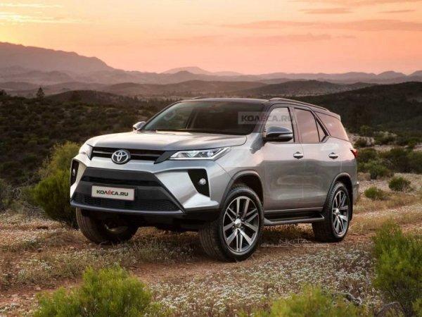«Прадик» и «Равчик», прячьтесь в тюбик! Показан новый Toyota Fortuner 2021