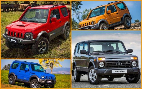 100-процентное доверие: Чем Suzuki Jimny лучше любой LADA 4x4 «Нива»