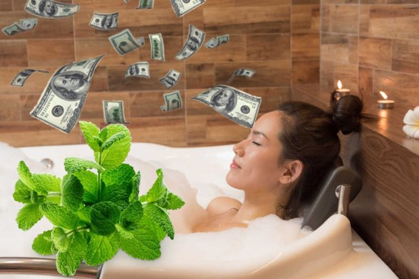 Лунный SPA-салон: Ванна с мятой сделает женщину богатой