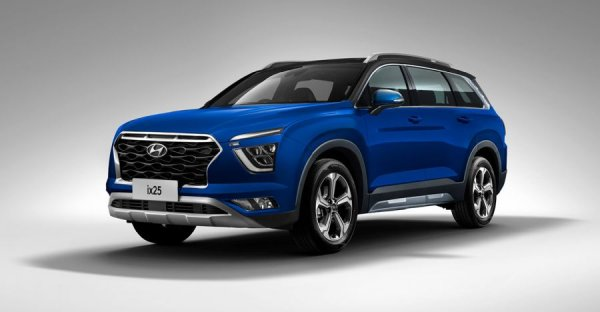 Показана семиместная Hyundai Grand Creta. Пора в Россию?