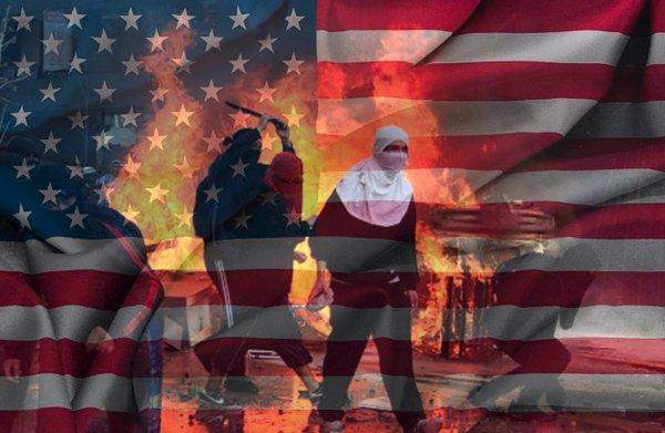 «Не будет завтра вашей Америки!»: «Моральная» поддержка малого бизнеса в США заставила народ выйти на баррикады