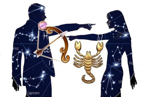 Качели «от любви до ненависти»: союз Стрелец-Скорпион морально истощает обоих