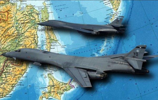 ВВС США рекордно близко подошли к бывшей базе подлодок на Курилах