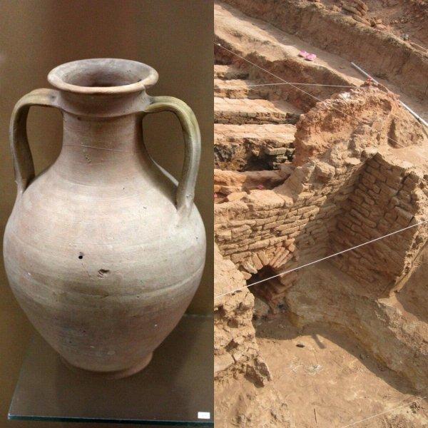 Археологи выясняют, зачем в древнюю китайскую гробницу положили кувшин странной жидкости