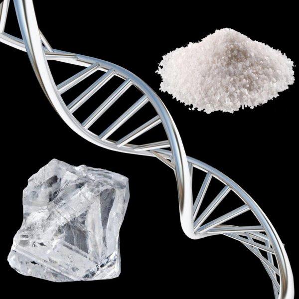 Учёным удалось вырастить «плоскую» соль на алмазе