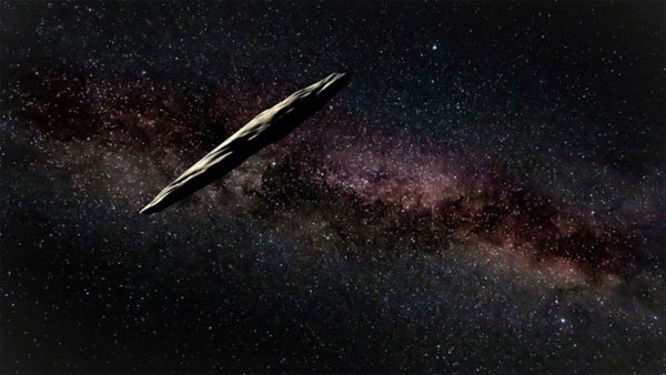 Астероид Оумуамуа может быть водородным айсбергом