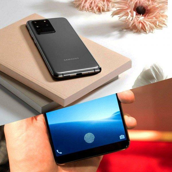 Samsung устранили проблему выгорания дисплея с разблокировкой отпечатком пальца