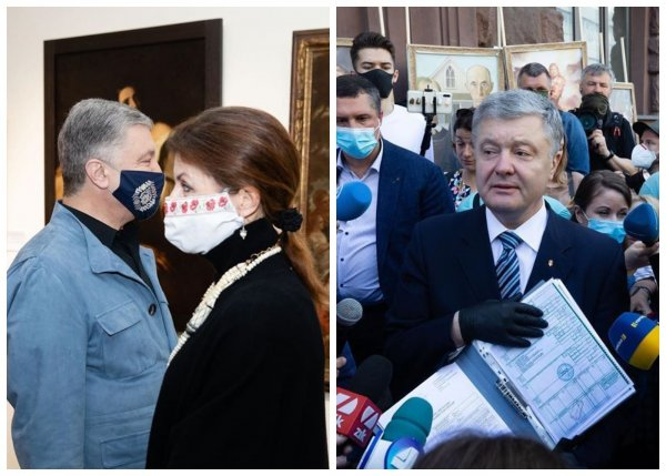 Порошенко добровольно приехал на допрос Госбюро Украины