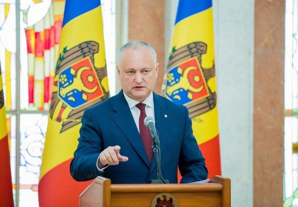 В День России президент Молдавии заявил, что готов продолжать дружбу с Москвой