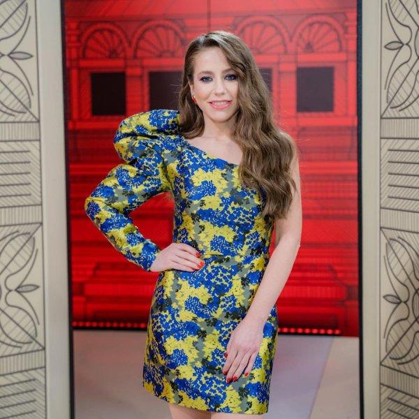 Юлия Барановская пришла на работу в платье за 43 тысячи рублей