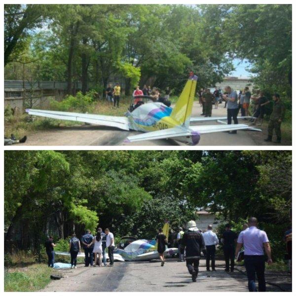 В Одессе при падении самолета «Дельфин» погибли два пилота