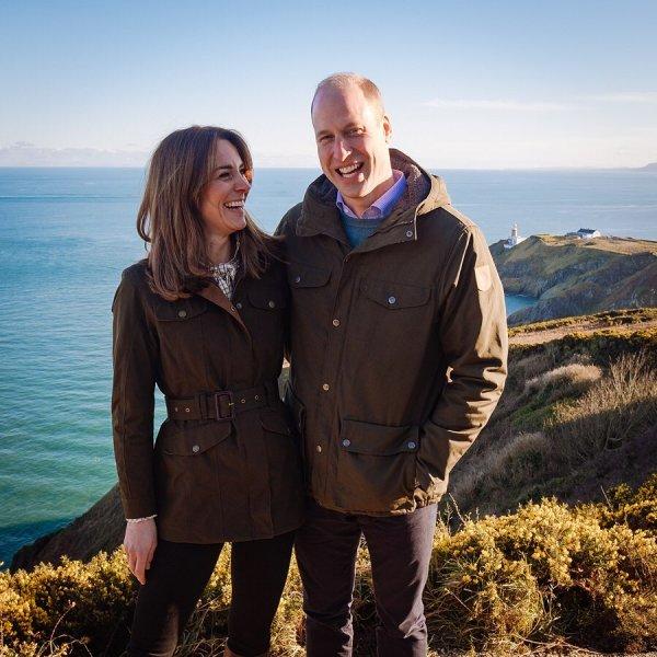 Принц Уильям и Кейт Миддлтон поделились новым фото с детьми