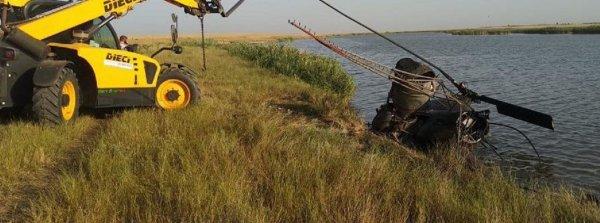 Бортмеханик погиб при жесткой посадке вертолёта под Ростовом