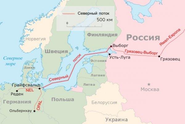 Дания разрешила достроить «Северный поток-2» в своих водах