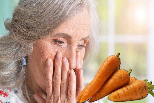 «Про витамин А забыть»: Врачи объяснили, каким пенсионерам нельзя есть морковь