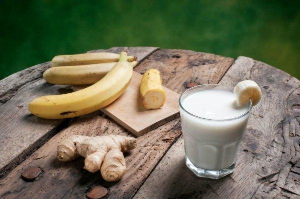 Имбирь и кожура - очистят организм на ура: Детокс-диета на банане избавит от токсинов