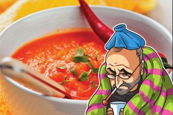 Врач рассказал, какие три блюда вылечат простуду лучше микстуры