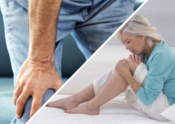 Здоровые колени и в 60: Терапевт назвал 5 лучших упражнений от боли в суставах