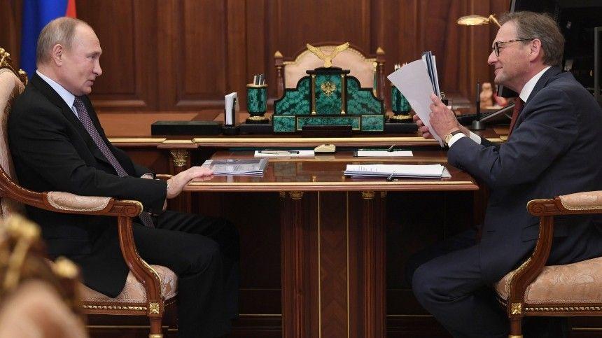 Титов предложил Путину новые меры поддержки бизнеса