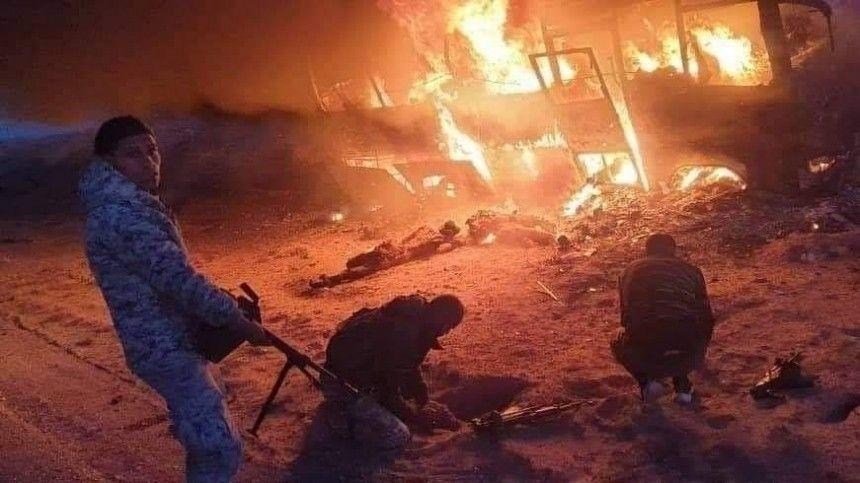 В результате подрыва автобуса в Сирии погибли 28 человек