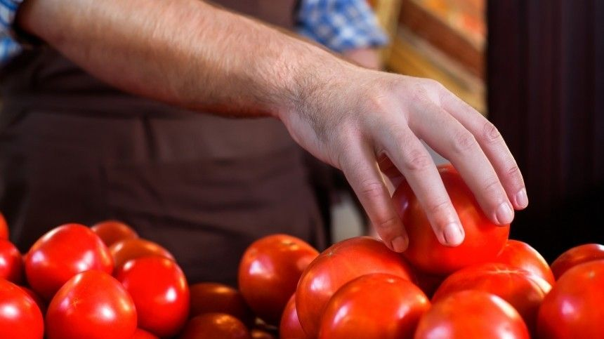 В Россию запретят ввозить томаты и яблоки из Азербайджана