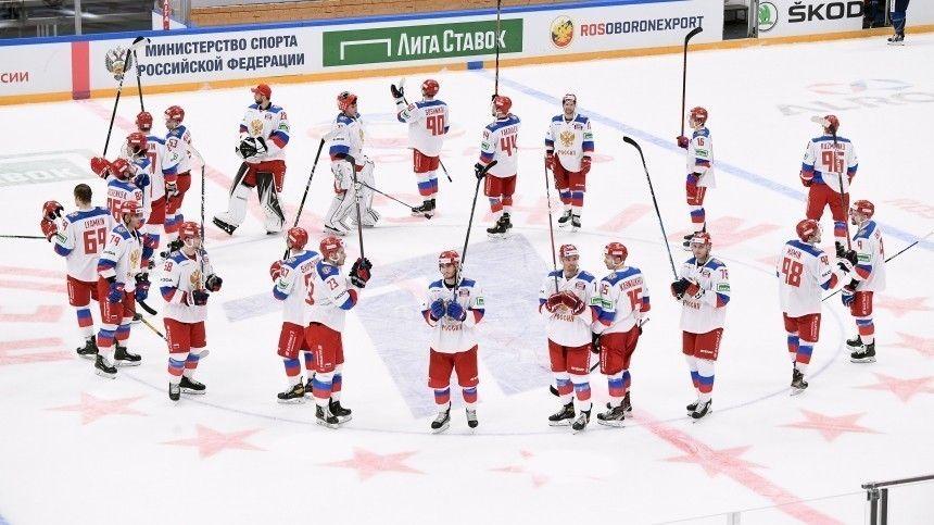 Сборная России по хоккею стала победителем Кубка Первого канала