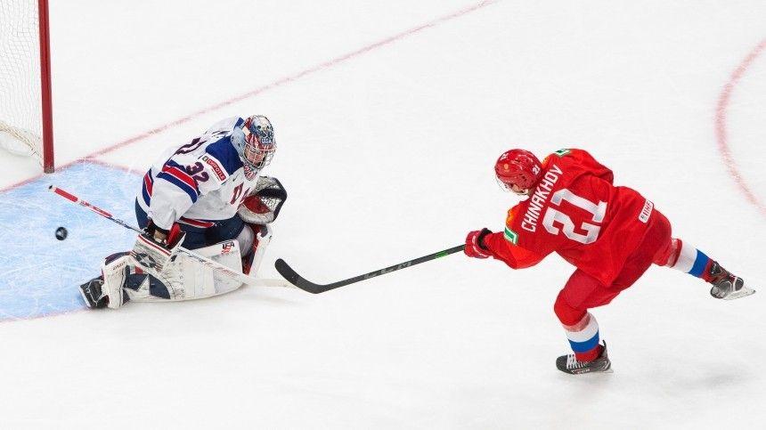 Видео из раздевалки: хоккейная сборная РФ радуется победе над США на МЧМ-2021