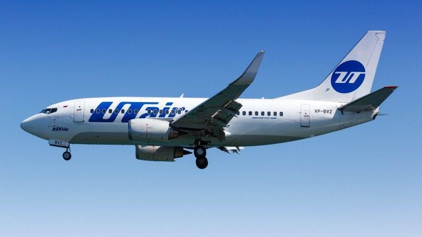 Самолет рейса Новосибирск–Сургут вернулся в аэропорт вылета из-за отказа двигателя